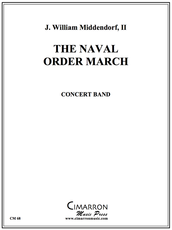 Middendorf - The Naval Order March - Concert Band