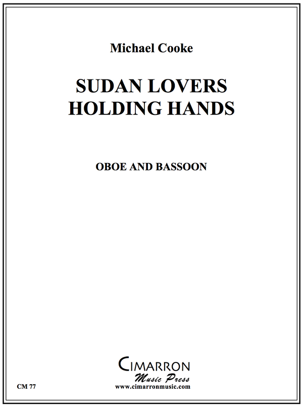 Cooke - Sudan Lovers holding hands - Oboe and Bassoon
