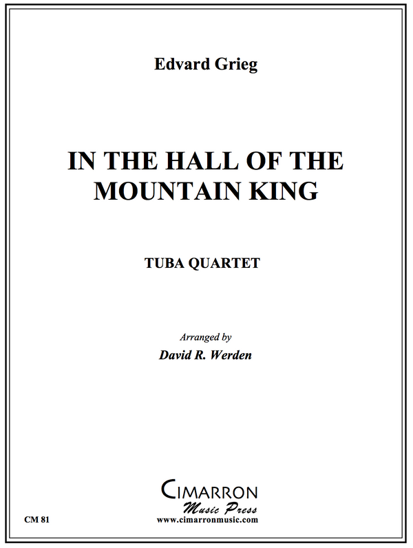 Grieg - In the hall of the Mountain King - Tuba Quartet