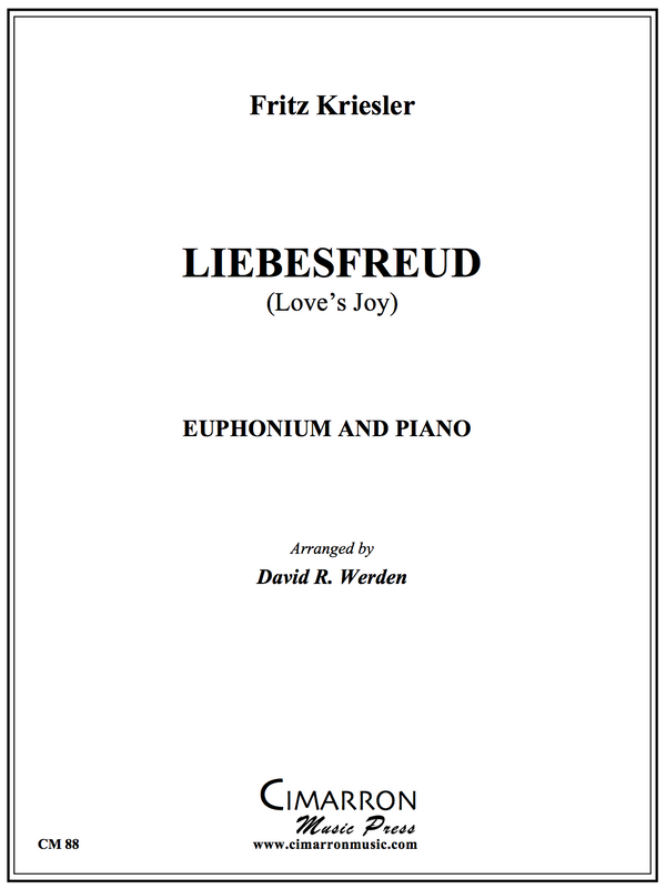 Kriesler - Liebesfreud - Euphonium and Piano