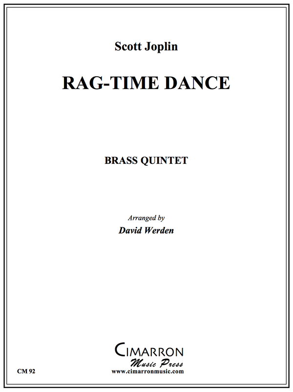 Joplin - Rag-time Dance - Brass Quintet