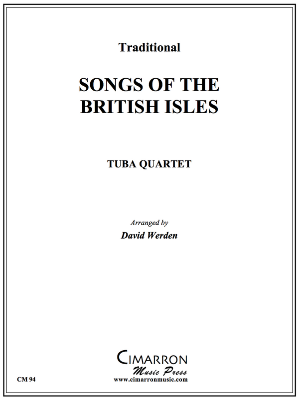 Various - Songs of the British Isles - Tuba Quartet