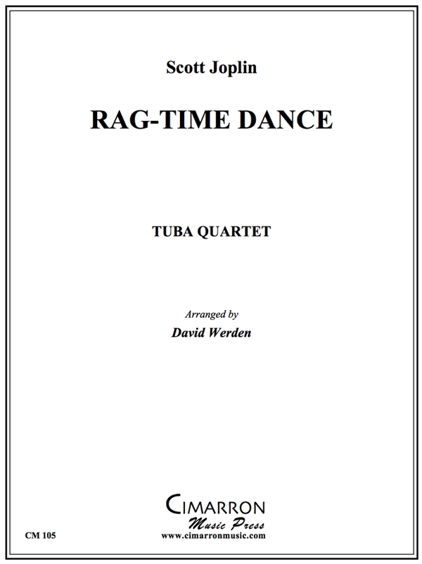 Joplin - Rag-time dance - Tuba Quartet