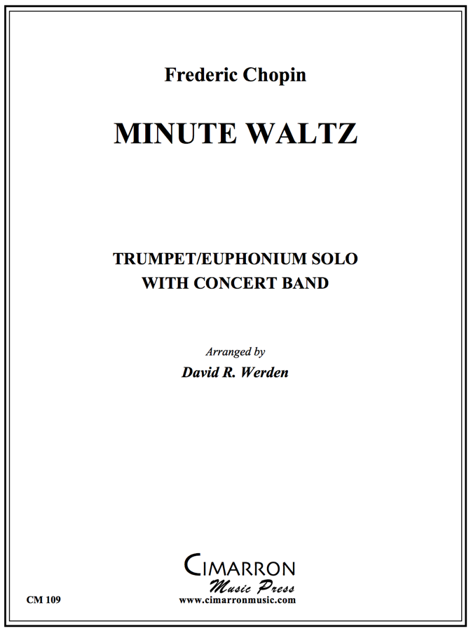 Chopin - Minute Waltz - Trumpet or Euphonium Solo with Concert Band