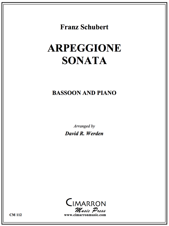 Schubert - Arpeggione - Bassoon and Piano