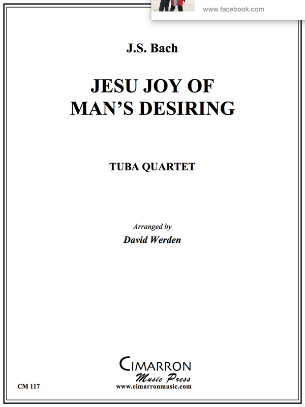 Bach - JESU, JOY OF MAN'S DESIRING - TUBA QUARTET
