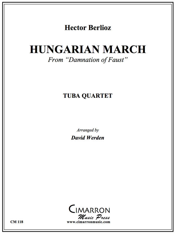 Berlioz - Hungarian March - Tuba Quartet