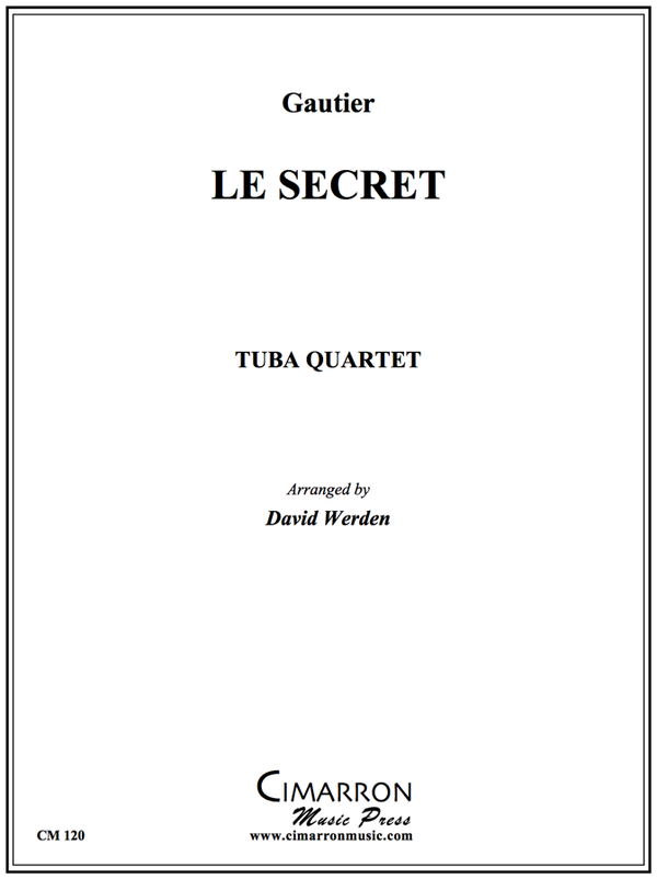 Gautier - Le Secret - Tuba Quartet
