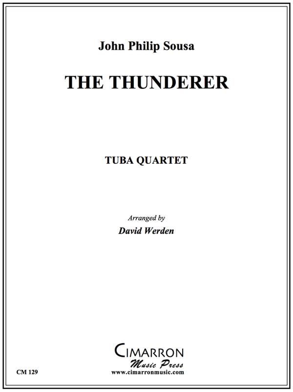 Sousa - The Thunderer March - Tuba Quartet