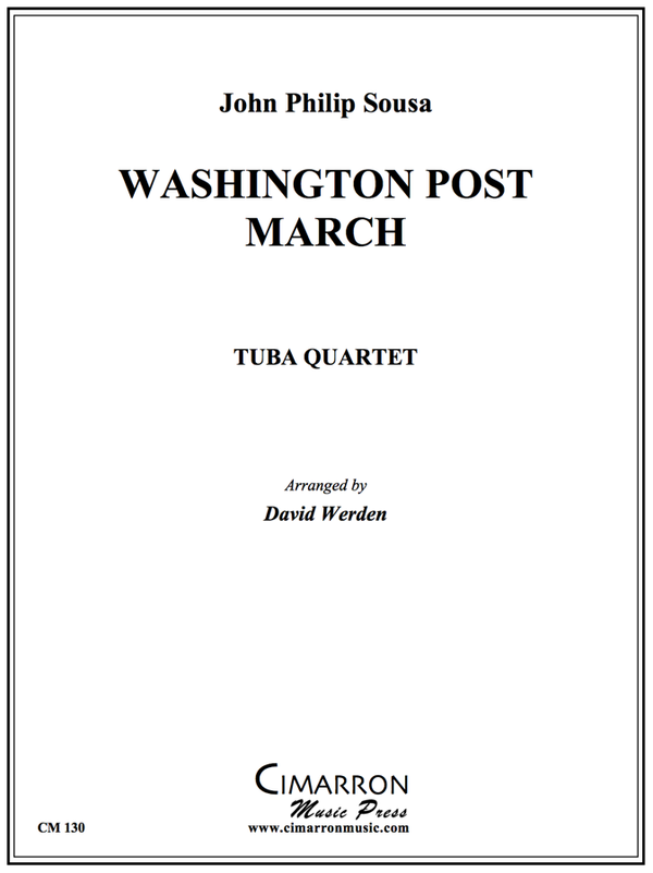 Sousa - Washington Post - Tuba Quartet