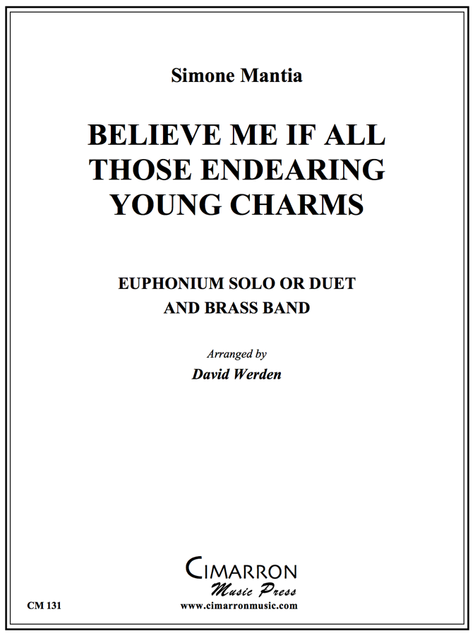 Sousa - Believe me if all those endearing young charms - Euphonium Solo and Brass Band