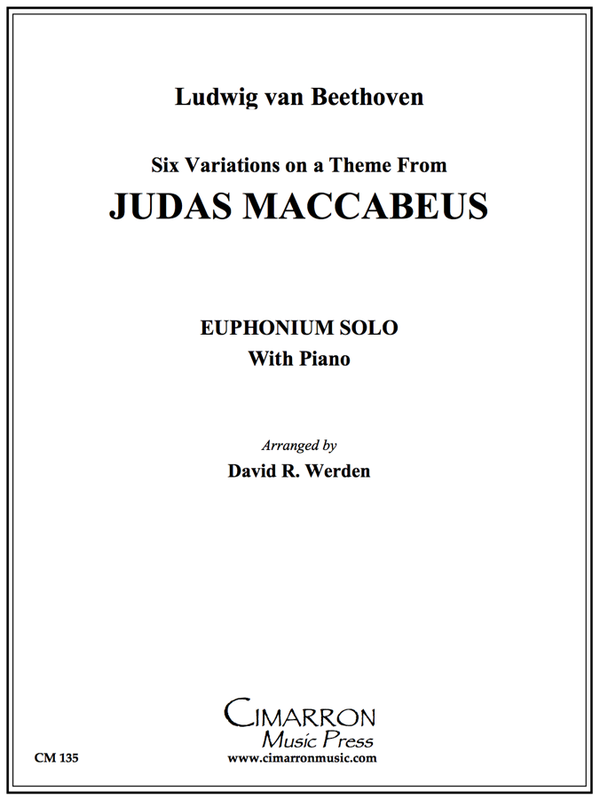 "Beethoven - Six Variations on ""Judas Macabeus"" - Euphonium and Piano"