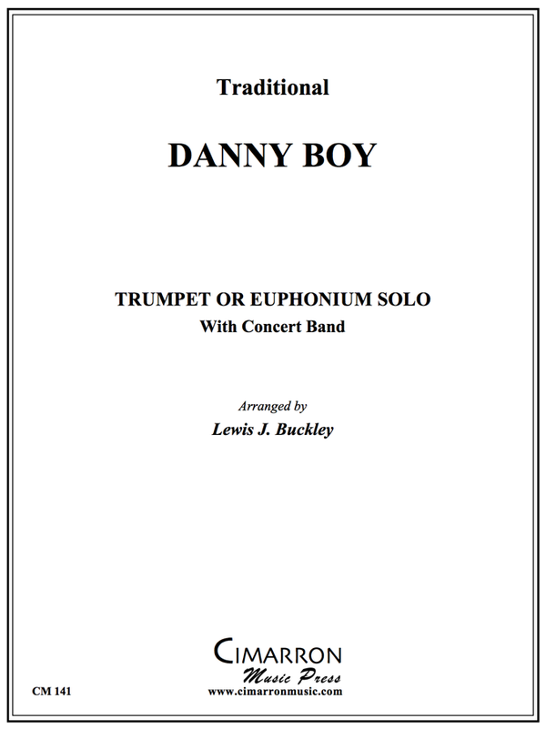 Traditional - Danny Boy - Trumpet or Euphonium and Concert Band