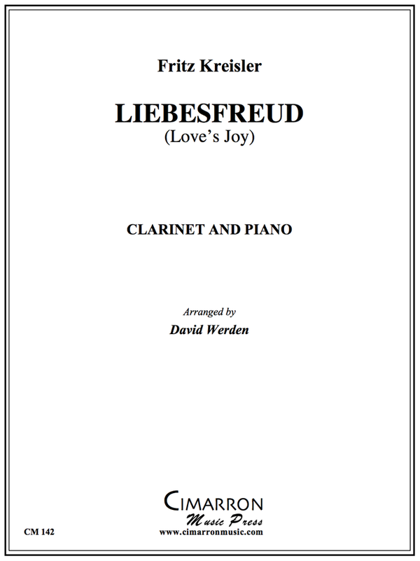 Kriesler - Liebesfreud (Love's Joy) - Clarinet and Piano