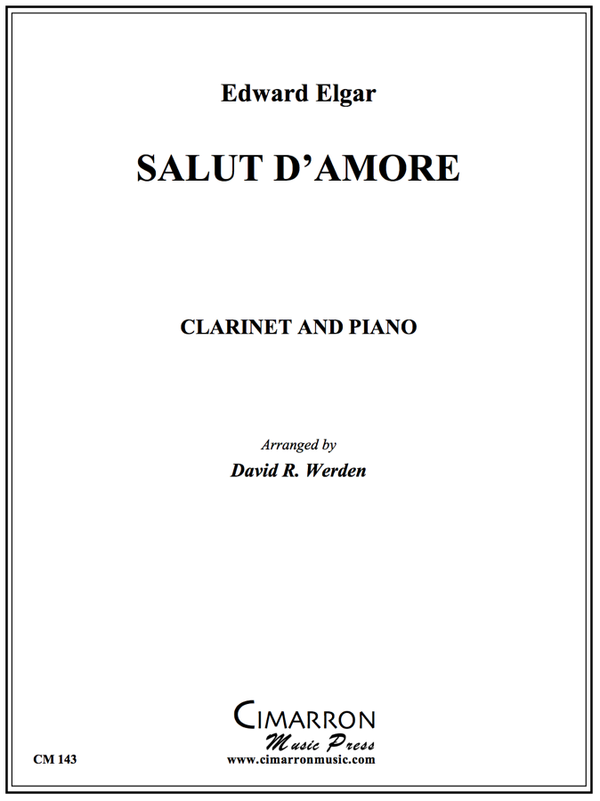 Elgar, E - Salut d'Amour - Clarinet or Bassoon and Piano