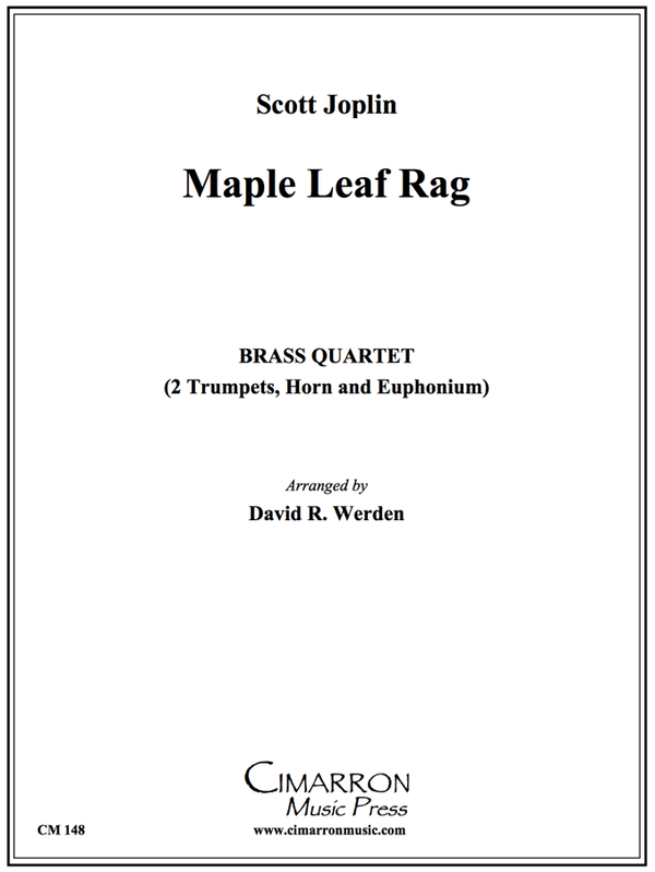 Joplin - Maple Leaf Rag - Brass Quartet