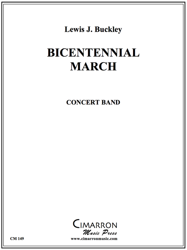 Lewis - Bicentennial March (USCG) - Concert Band