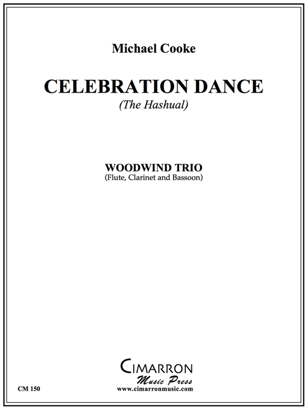 Cooke - Celebration Dance (The Hashual) - Woodwind Trio
