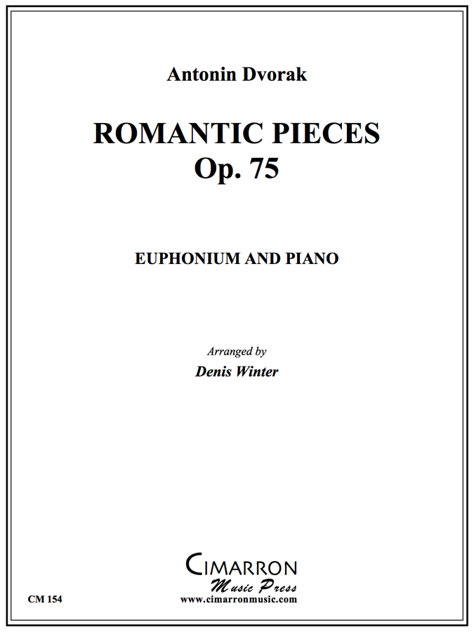 Dvorak - Romantic Pieces, Op. 75 - Euphonium and Piano