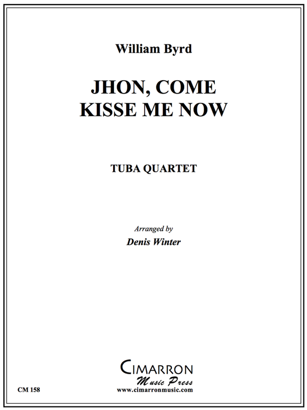 Byrd - Jhon, Come Kisse Me Now - Tuba Quartet (EETT)