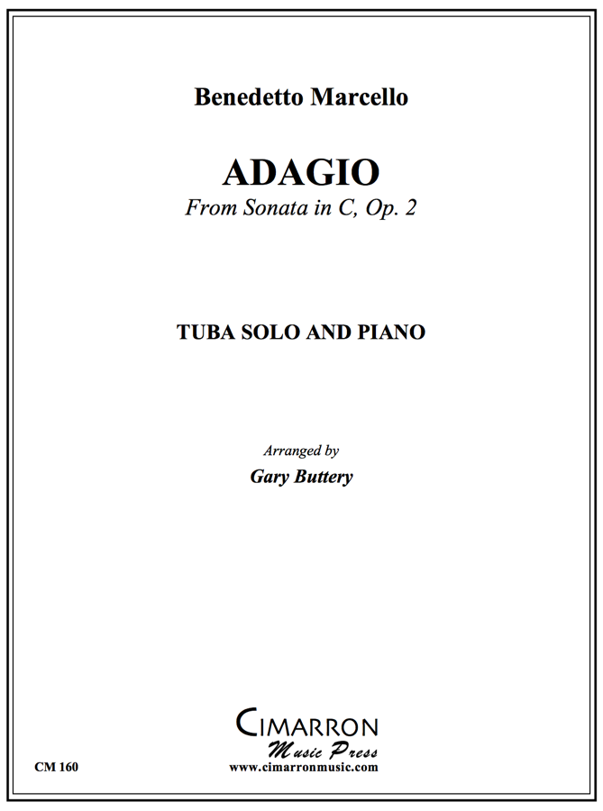 Marcello - Adagio from Sonata in C, Op. 2 - Tuba and Piano