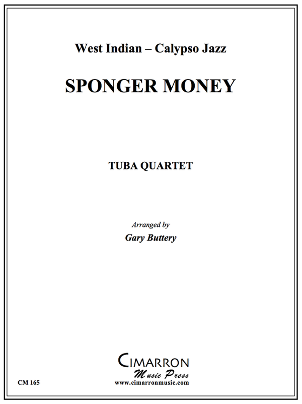 Traditional - Sponger Money - Tuba Quartet (EETT)