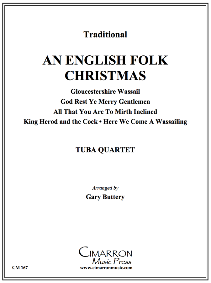 Traditional - An English Folk Christmas -Tuba Quartet (EETT)