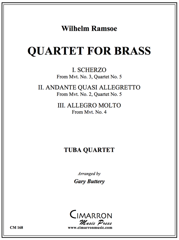 Ramsoe - Quartet for Brass -Tuba Quartet (EETT)