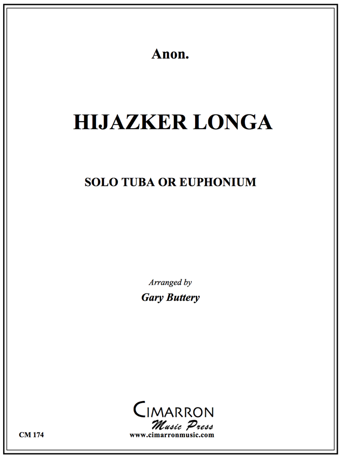 Traditional - Hijazker Longa - Euphonium or Tuba and Piano