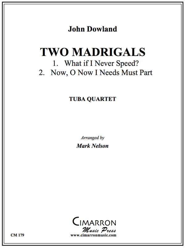 Dowland - Two Madrigals - Tuba Quartet (EETT)