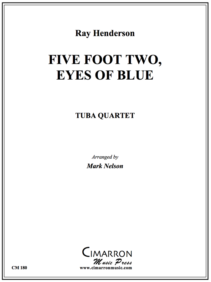 Henderson - Five Foot Two, Eyes of Blue - Tuba Quartet (EETT)