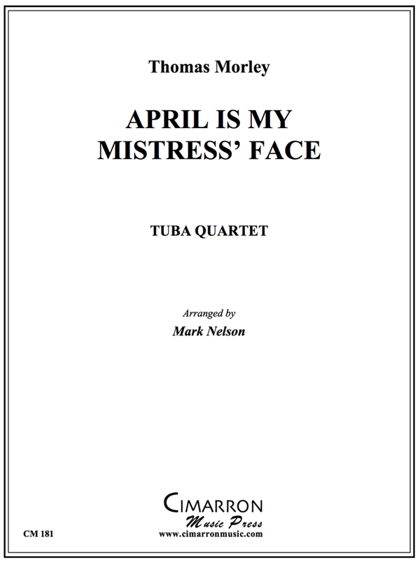 Morley - April Is In My Mistress' Face - Tuba Quartet (EETT)