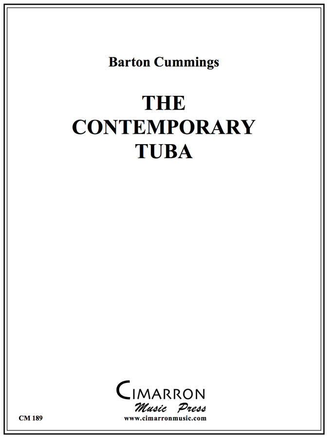 Cummings - The Contemporary Tuba - Etudes and Studies