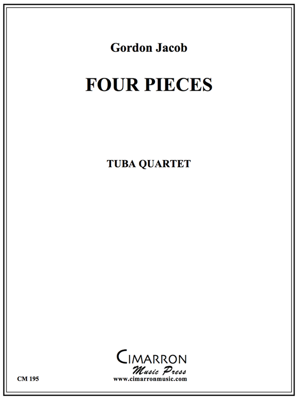 Gordon Jacob - Four Pieces for Tuba Quartet - Tuba Quartet (EETT)