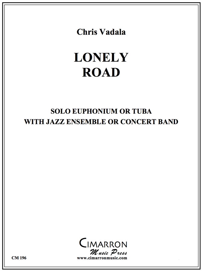 Vadala - Lonely Road - Euphonium or Tuba Solo with Big Band or Concert Band
