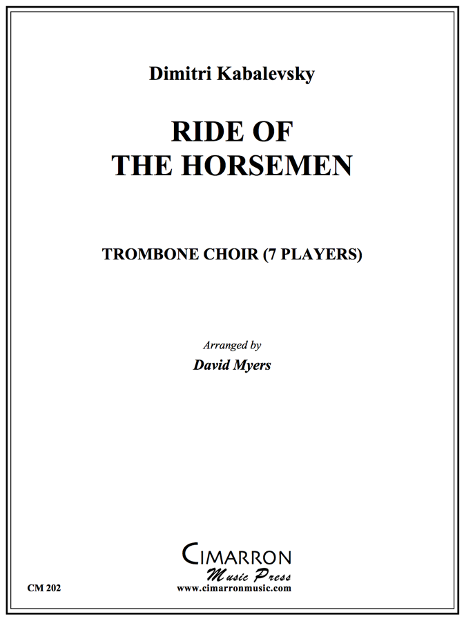 Kabalevsky - Ride of the Horseman - Trombone Ensemble