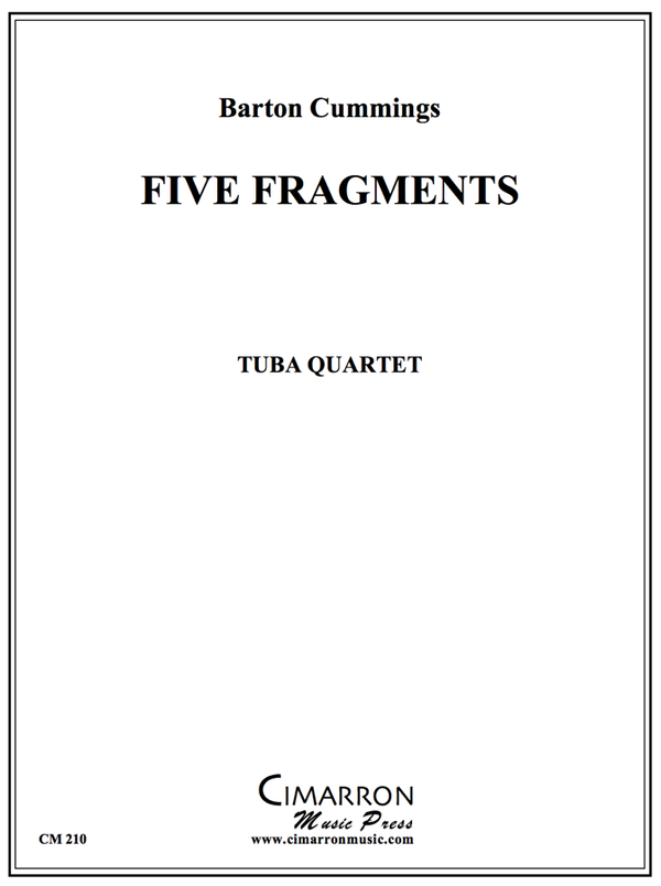 Cummings - Five Fragments - Tuba Quartet (EETT)