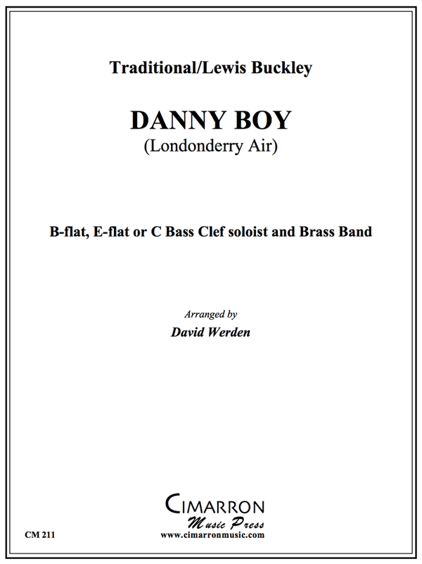 Traditional - Danny Boy - Trumpet or Euphonium with Brass Band