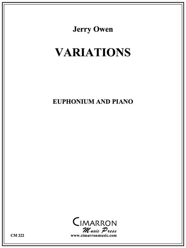 Owen - Variations - Euphonium and Piano