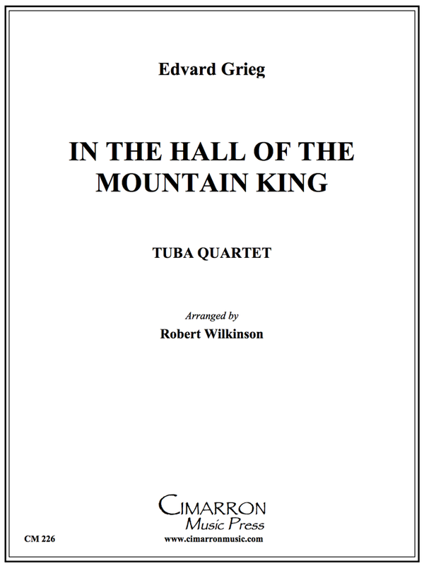 Grieg - Hall of the Mountain King - Tuba Quartet (EETT)