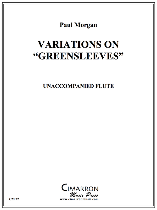 "Morgan - Variations on ""Greensleeves"" - Unaccompanied Flute"
