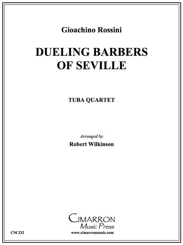 Rossini - Duelling Barbers (of Seville) - Tuba Quartet (EETT)