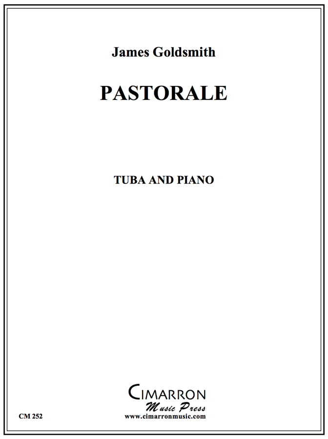 Goldsmith - Pastorale - Tuba and Piano
