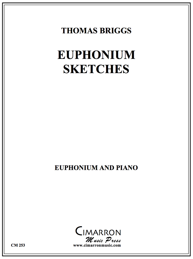 Briggs - Euphonium Sketches - Euphonium and Piano