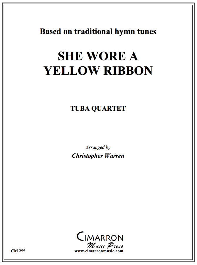 Traditional - She Wore a Yellow Ribbon- Tuba Quartet (EETT)
