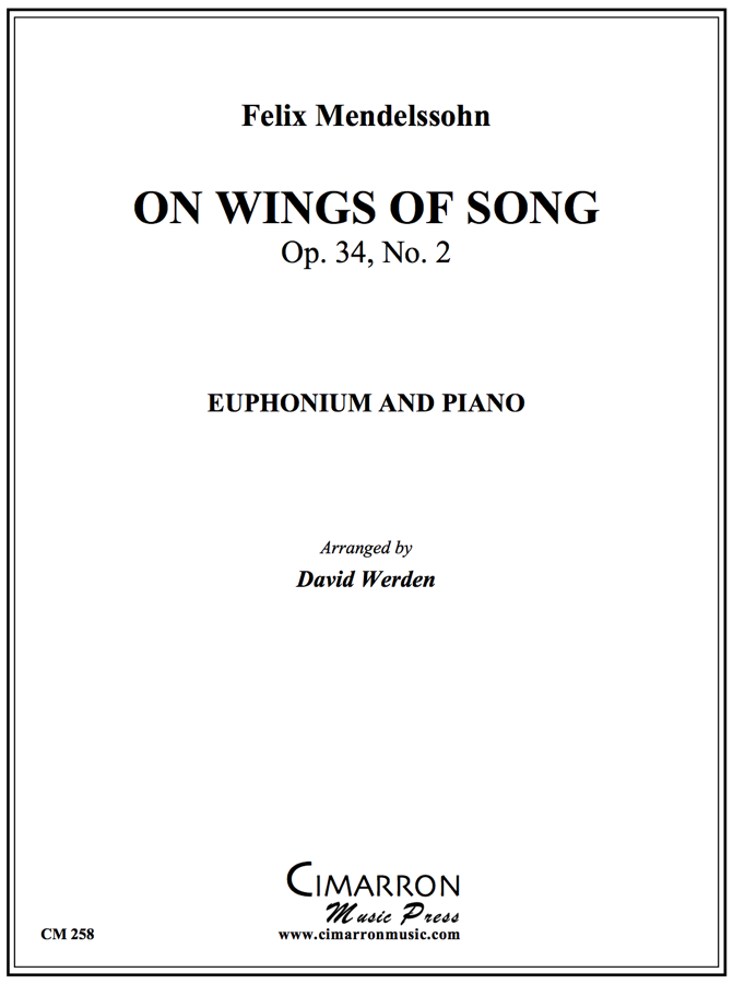 Mendelssohn - On Wings of Song - Euphonium and Piano