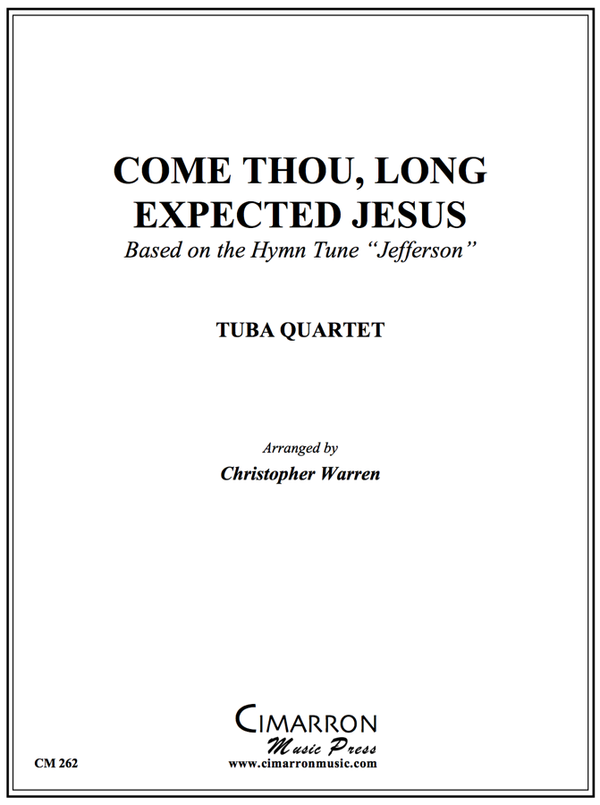 Jefferson - Come, Thou Long Expected Jesus - Tuba Quartet (EETT)