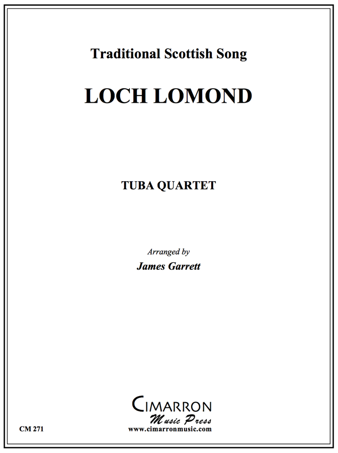 Scottish - Loch Lomond - Tuba Quartet (EETT)