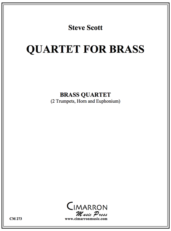 Scott - Quartet for Brass - Brass Quartet