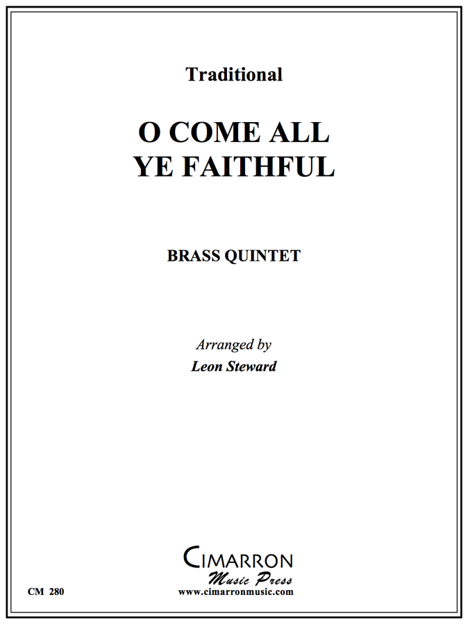 Traditional - O, Come All Ye Faithful - Brass Quintet